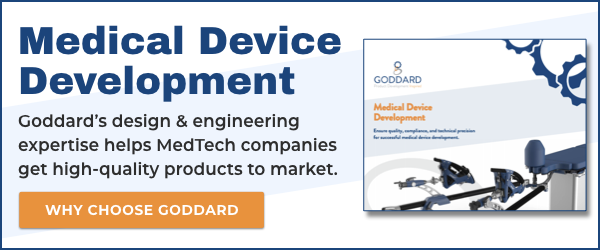 Read Goddard's Medical Device Development Brochure