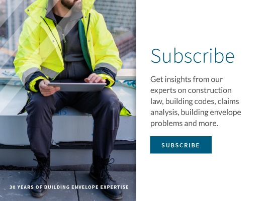 Subscribe to the Everything Building Envelope blog