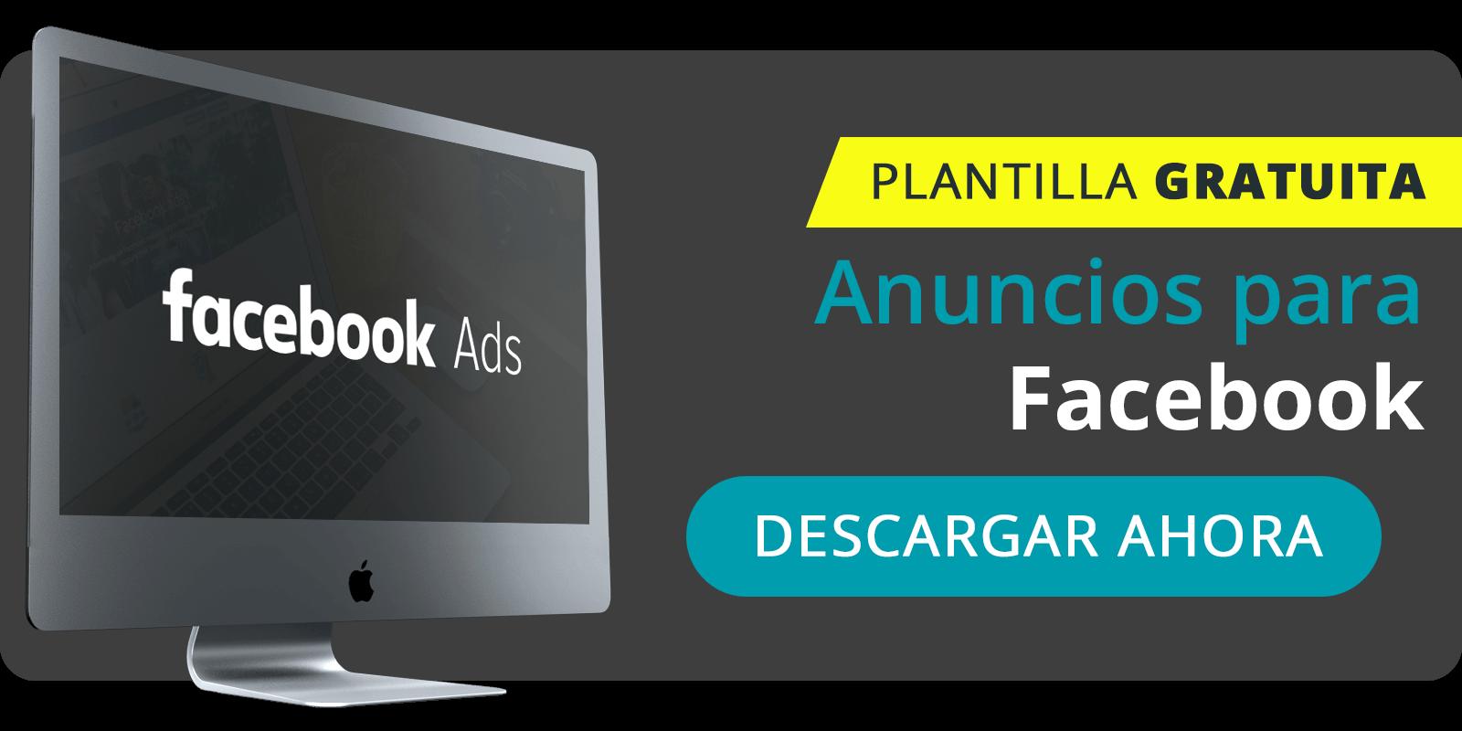 Plantillas para anuncios en Facebook