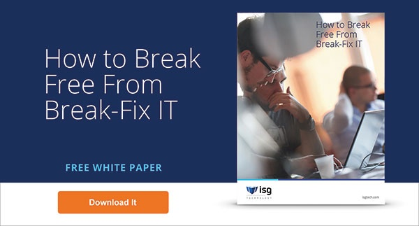 Free Whitepaper: How to Break Free From Break-Fix IT