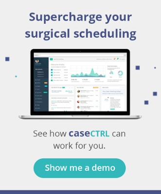 Supercharge your surgical scheduling. See how caseCTRL can work for you. Show me a demo.