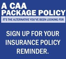Sign up for your insurance policy reminder.