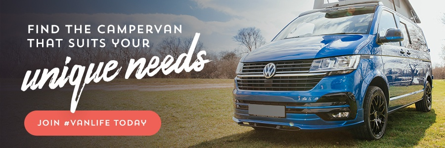 Find the campervan that suits your unique needs. Join #vanlife today