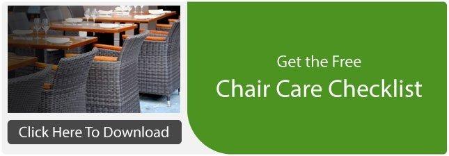 Chair Care Checklist