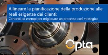 Allineare la pianificazione della produzione alle reali esigenze dei clienti