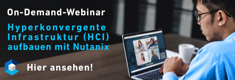 HCI mit Nutanix On-Demand-Webinar