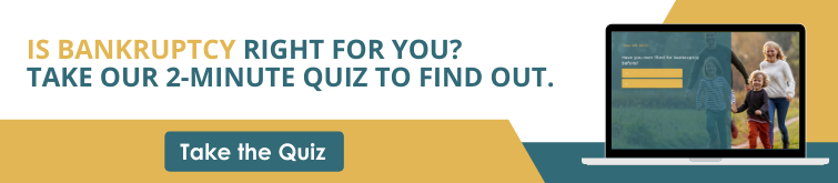 Could bankruptcy be a solution for you? Take this quiz to find out.