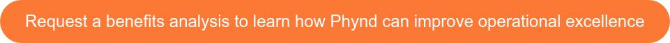 Request a benefits analysis to learn how Phynd can improveoperational  excellence