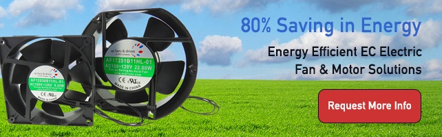 Energy Efficient EC Electric Fan and Motor Solutions