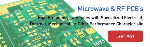 Microwave and RF Printed Circuit Board Technologies