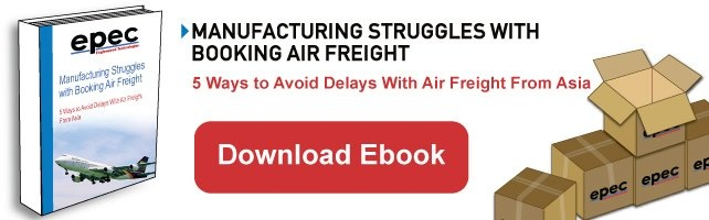 Manufacturing Struggles with Booking Air Freight
