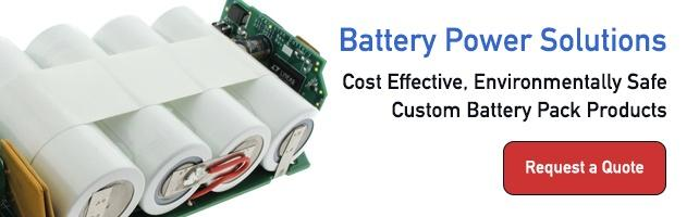 Cost Effective Custom Battery Pack Products