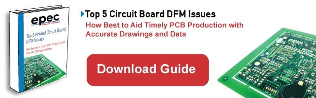 Top 5 Circuit Board DFM Issues Ebook Download