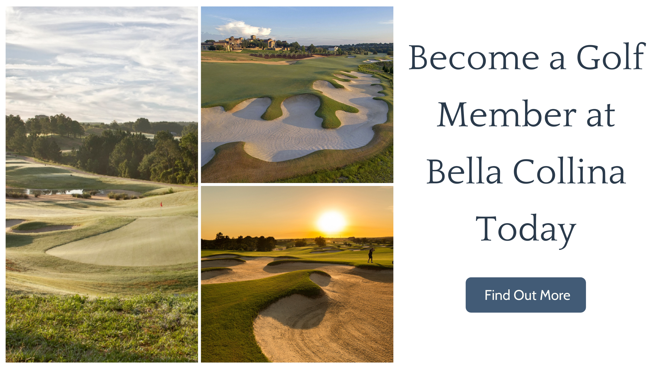 Become a Golf Member at Bella Collina Today - Find Out More