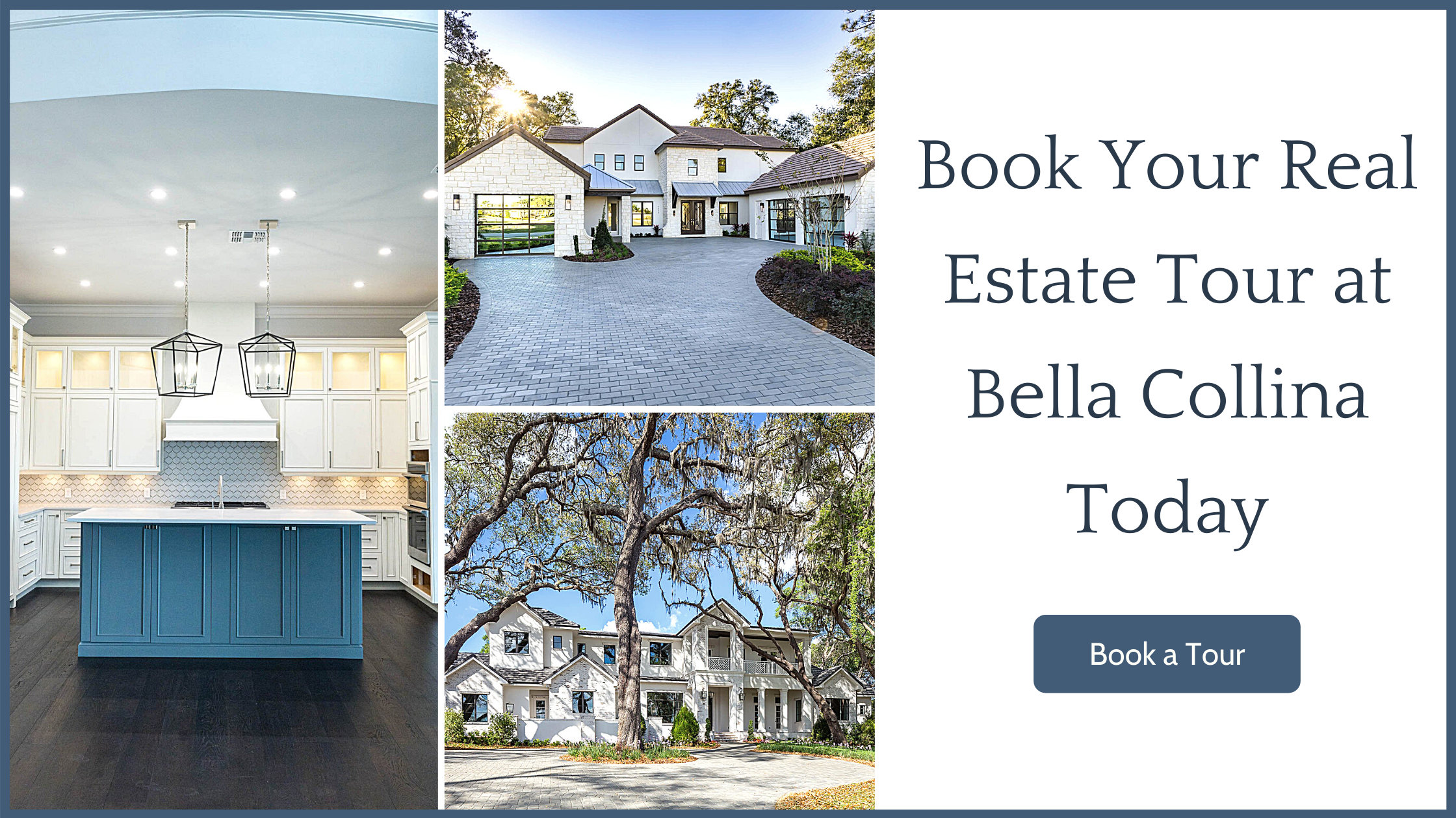 Book Your Real Estate Tour at Bella Collina Today