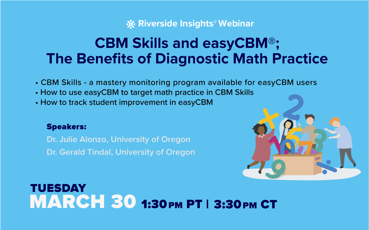 CBM Skills and easyCBM Benefits of Diagnostic Math