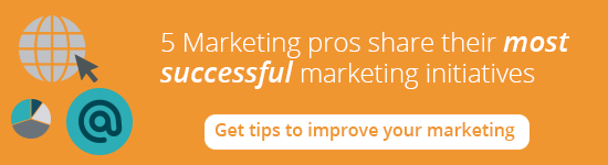 5 marketing pros share their most successful marketing initiatives
