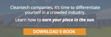 Download your free e-book: 5 PR laws for cleantech market awareness