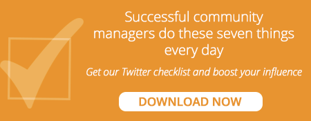 Download this daily checklist to boost your influence on Twitter.