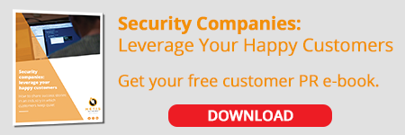 Security companies: Get your free customer PR e-book