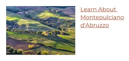 Learn About Montepulciano d'Abruzzo Wine