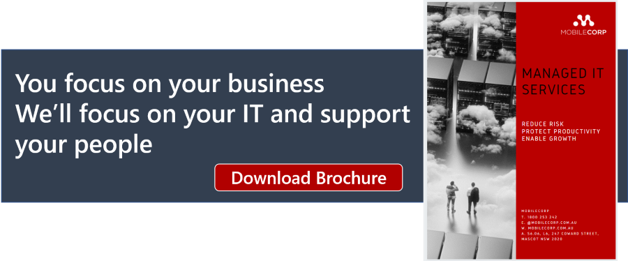 MobileCorp Managed IT Services brochure