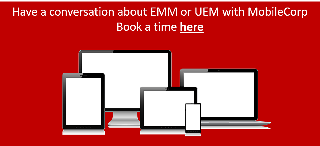 Have a UEM conversation with MobileCorp