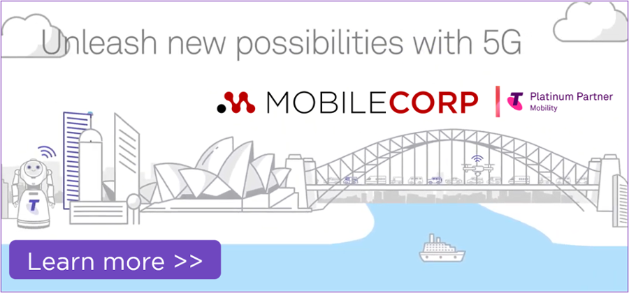 Telstra 5G with MobileCorp
