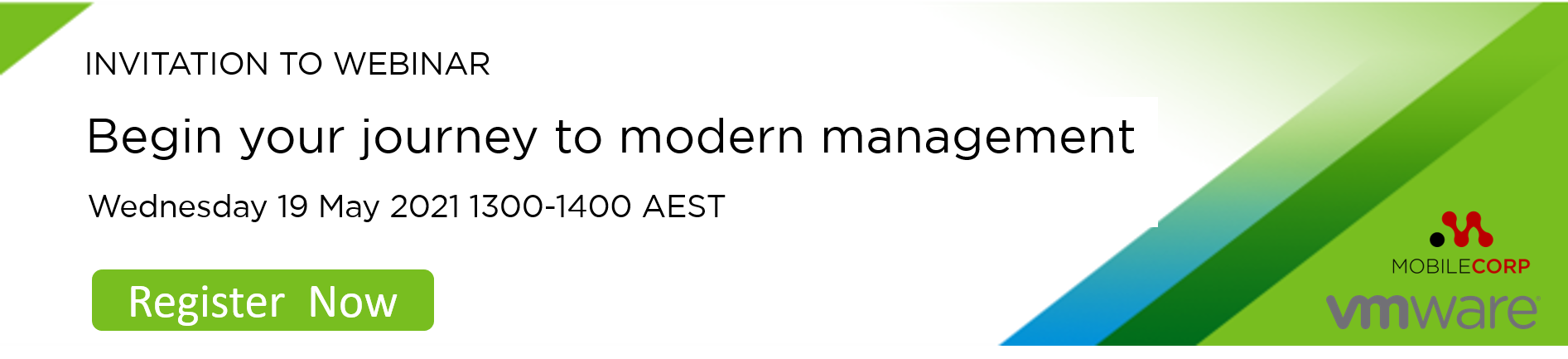 Webinar invitation - Modern Management  blog
