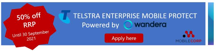 Apply for Telstra Enterprise Mobile Protect