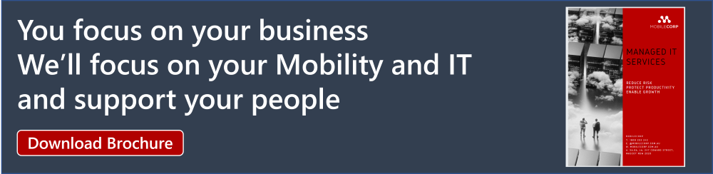 MobileCorp Mobility and IT Support for SMB