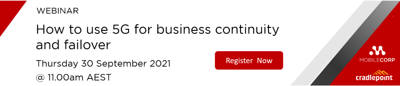 Webinar How to use 5G for business continuity and failover