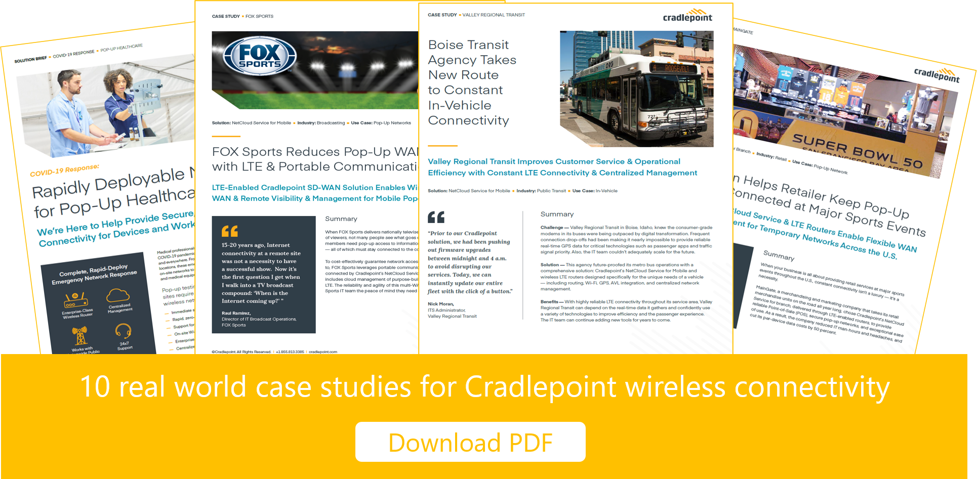 10 Cradlepoint Business Use Cases