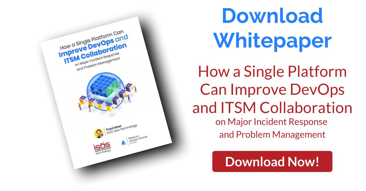 How a Single Platform Can Improve DevOps and ITSM Collaboration