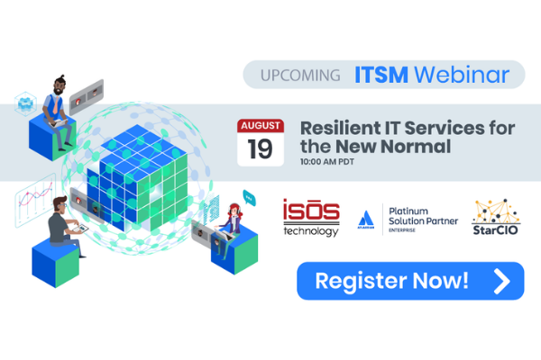 Resilient IT Services for the New Normal webinar
