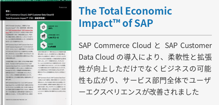 The Total Economic Impact of SAP