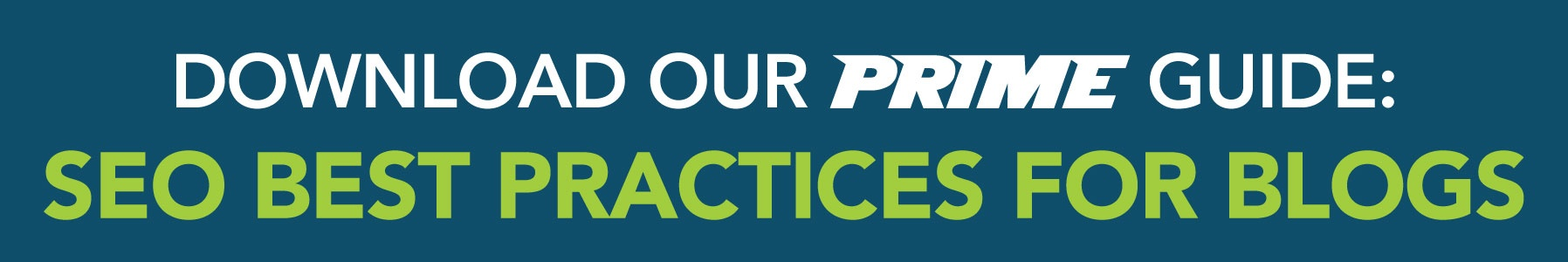 download our prime guide: seo best practices for blogs