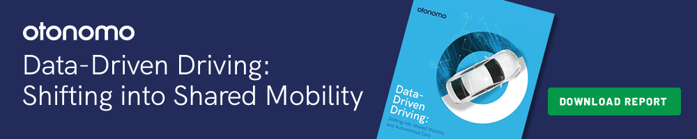 Data-Driven Driving: Shifting into Shared Mobility and Autonomous Cars