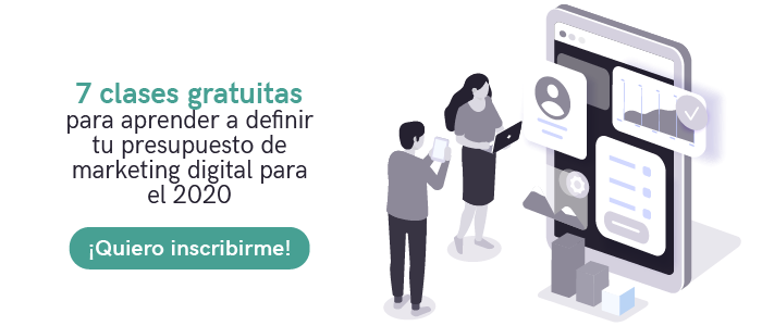 Clases gratuitas para aprender a definir tu presupuesto de marketing digital