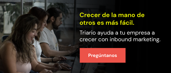 Inbound marketing con Triario