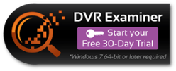 Sign up for a fee 30-day trial of DVR Examiner