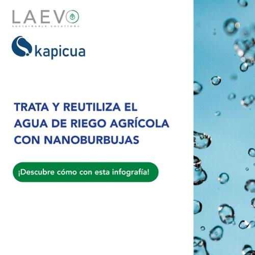 Trata y reutiliza el agua de riego agrícola con nanoburbujas