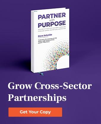 Partner with Purpose, Steve Schmida book