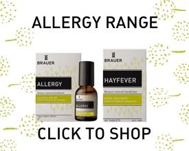 Brauer Natural Medicine Allergy Range