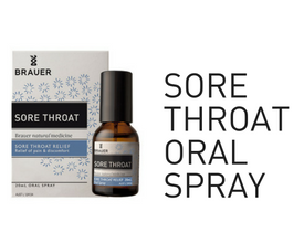 Brauer Sore Throat Oral Spray
