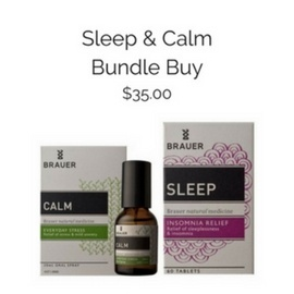 Brauer Natural Medicine Sleep & Calm Bundle Buy