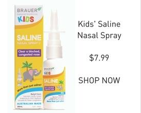 Brauer KIDS Saline Nasal Spray