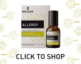 Click to Shop Allergy Oral Spray by Brauer Natural Medicine