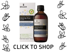 Brauer Natural Medicine Manuka Cold & Flu