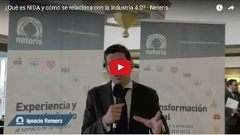 NIDA, Industria 4.0, solucionestecnologicas, transformacion digital, m2m, big data, cloud, movilidad, neteris